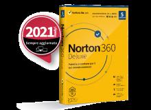 SYMANTEC NORTON 360 DELUXE 2020 5 DISPOSITIVI 12 MESI 50GB