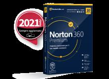 SYMANTEC NORTON 360 PREMIUM 2020 10 DISPOSITIVI 12 MESI 75GB