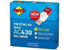 ADATTATORE FRITZ Stick AC430 MU-MIMO 583 Mbit/s DUAL BAND - WIRELESS-N 20002810