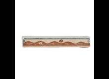 GRESPANIA Decoro bordo verde e marrone 3 X 20 cm