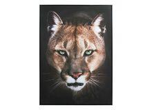 Quadro a Olio Puma (100 x 4 x 100 cm)