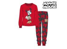 Pigiama Per bambini Minnie Mouse 74819 Rosso Taglia:10 anni