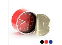 Orologio da Tavolo con Calamita (Ø 8,8 cm) 143457 Colore:Rosso