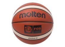 Pallone da Basket Molten BGG6X Pelle scamosciata sintetica (Taglia 6)