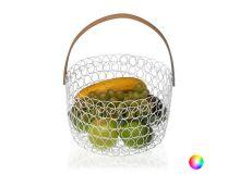 Portafrutta Metallo (24 x 15 x 24 cm) Colore:Arancio