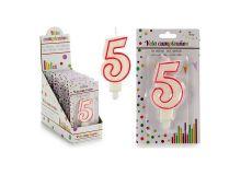 Candela Compleanno Nº 5
