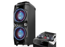 PARTY SPEAKER SYSTEM SHARP PS-940 - 180W BLUETOOTH RADIO 2 USB AUX IN EQUALIZER