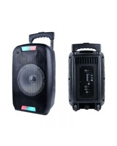 PARTY SPEAKER PORTATILE AKAI AKBT1000 BLACK - BLUETOOTH USB AUX MICROFONO 50 WATT