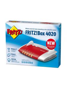 ROUTER FRITZ BOX 4020 - WIRELESS-N 450MBPS 2,40 GHZ ISM BAND