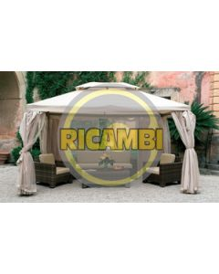 SET 4 TELI LATERALI PER GAZEBO SAHARA MT.4X4