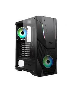 CASE ITEK SPACIRC VO - Gaming Middle Tower, 2x12cm ARGB fan, USB3