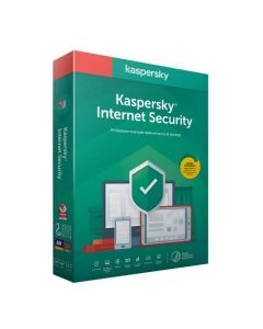SOFTWARE KASPERSKY INTERNET SECURITY 2020 3PC - 1 ANNO