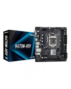 MAINBOARD ASROCK H470M-HDV - DDR4 SOCKET 1200 + HDMI Micro ATX