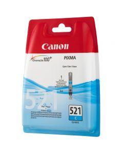 CARTUCCIA ORIGINALE CANON CLI-521 CYAN 2934B001