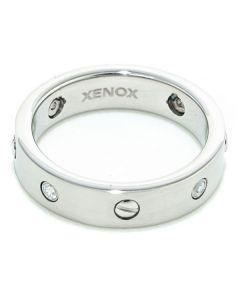 Anello Donna Xenox X1479 Argentato Taglia:12