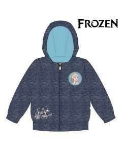Felpa con Cappuccio da Bambina Frozen 74235 Blu marino Taglia:8 anni