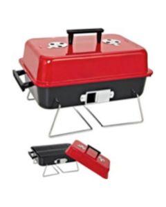 Barbecue Portatile Rosso Nero (47 X 28 x 28 cm)