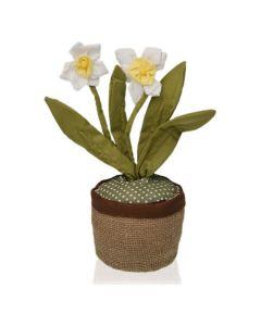 Fermaporta Narciso Tessile (13 x 37 x 13 cm)