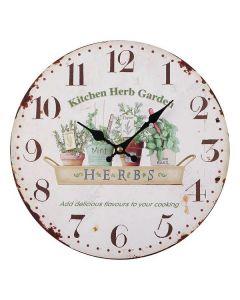 Orologio da Parete Kitchen Metallo (5 x 28 x 28 cm)