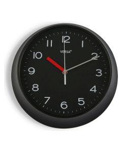 Orologio da Parete Plastica (6,6 x 29,3 x 29,3 cm) Nero
