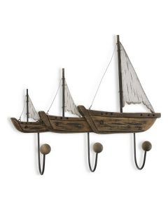 Appendiabiti Boat Metallo (10 x 42 x 46 cm)