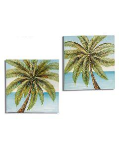 Tela Palm Tree Tela (3 x 80 x 80 cm)