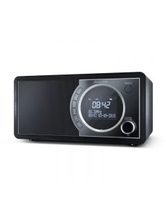 RADIO DIGITALE SHARP DR450 BLACK - DAB DAB+ FM RADIO RDS BLUETOOTH 6W 60 STAZIONI MEMORIZZABILI AUX IN