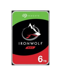 SEAGATE HDD IRONWOLF NAS 6TB 3 ,5 5400RPM SATA3 128MB CACHE