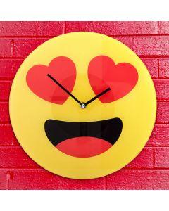Orologio da Parete Emoticon Cuori
