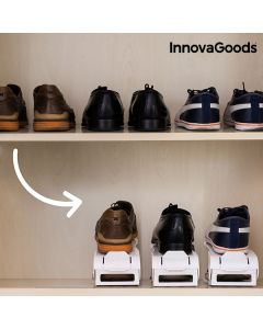 Contenitore Regolabile per Sistemare le Scarpe Shoe Rack InnovaGoods (6 Paia)